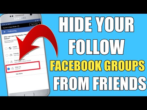 How To Hide Like Groups From Friends On Facebook