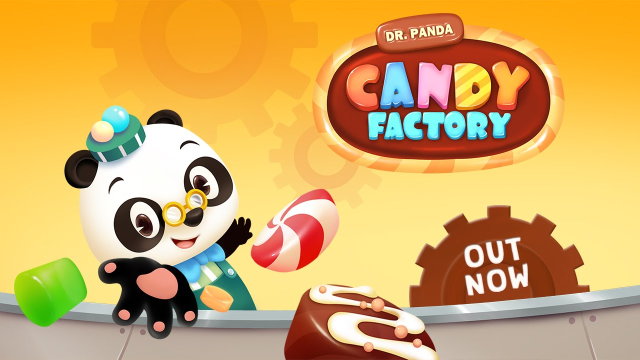 dr  panda candy factory - official trailer