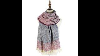 Аксессуары mujer мягкие зимние шали палантин женские длинные шарфы новейшая мода полиэстер