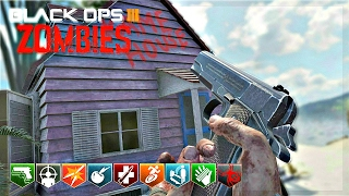 BLACK OPS 3 CUSTOM ZOMBIES MOD TOOLS! | KAME HOUSE WITH BO2 WEAPON MODELS!