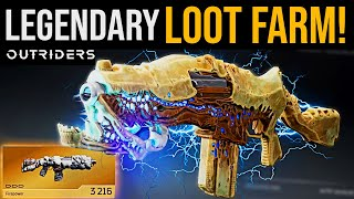 Outriders LEGENDARY LOOT FĄRM - How To Get EASY Legendaries In Outriders (Legendary Loot Cave)