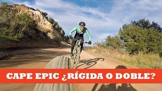 Cape Epic ¿Rígida o doble? | Ibon Zugasti