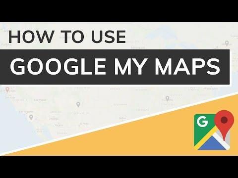 Google My Maps Tutorial 2021