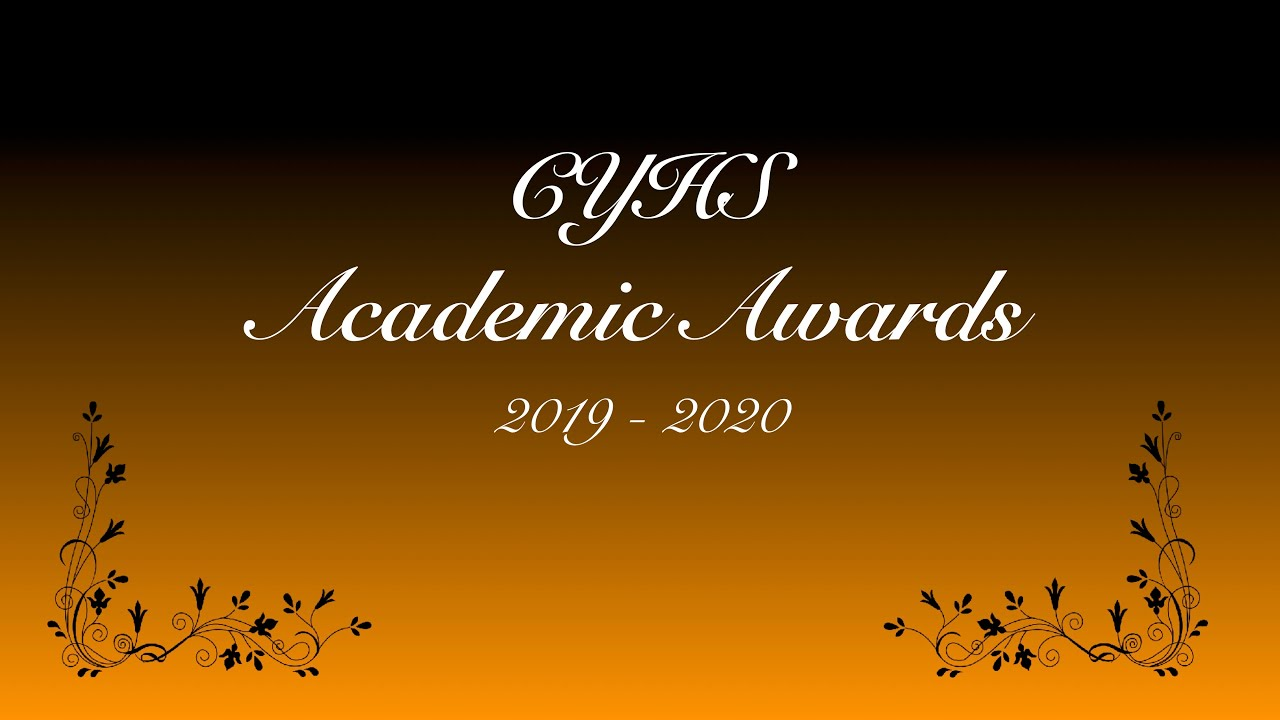 CYHS Awards Ceremony - 2019-20
