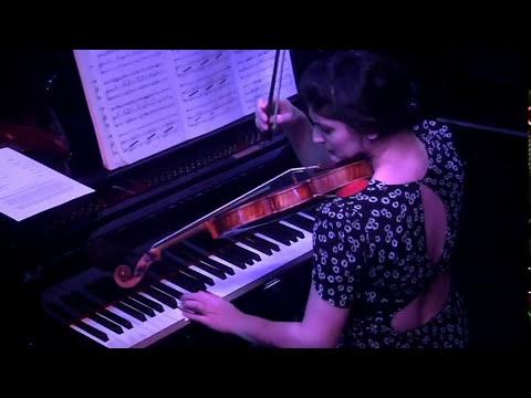 Michelle Ross, violin: live at (le) Poisson Rouge / Bach, Ravel, Messiaen, originals