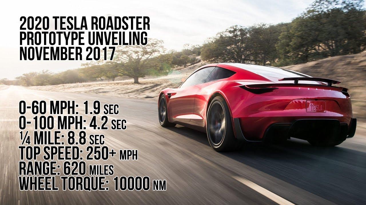 2020 Tesla Roadster Prototype World Premiere - YouTube