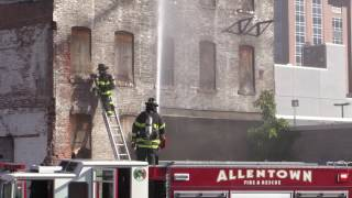 All Hands Working at Allentown Center City Structure Fire - 9.25.16