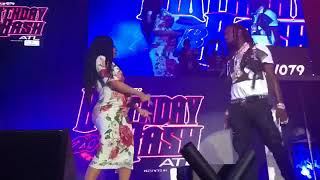 Cardi B and her pregnant belly make surprise appearance at Hot 107.9 Birthday Bash ATL