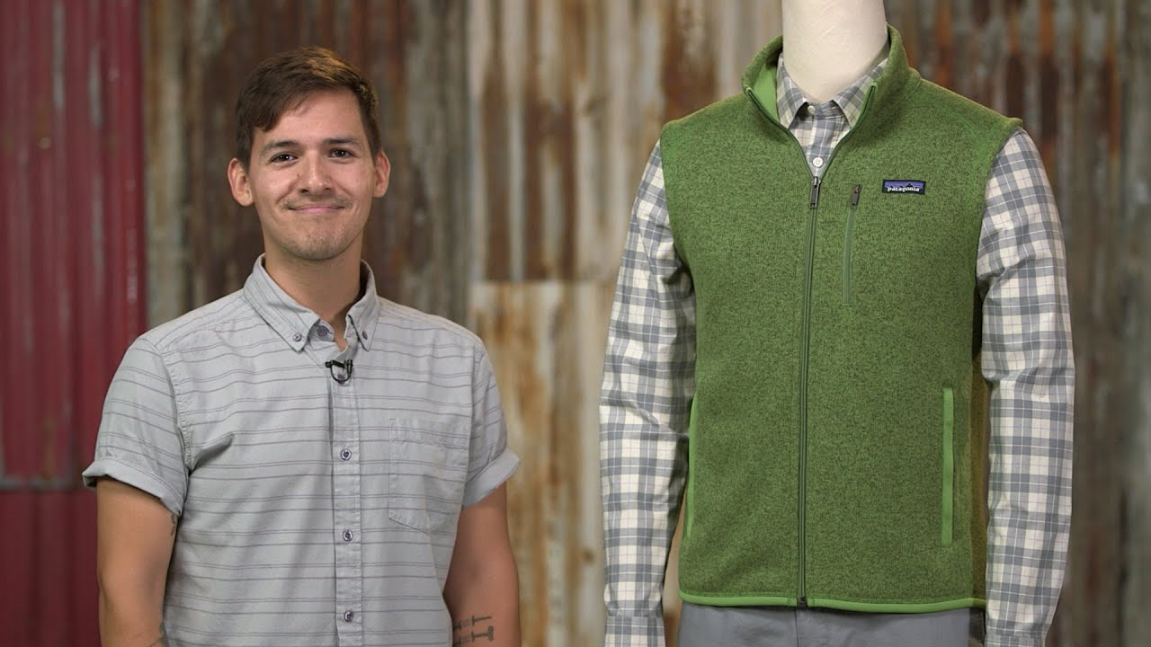 Patagonia Men's Better Sweater® Fleece Vest - YouTube
