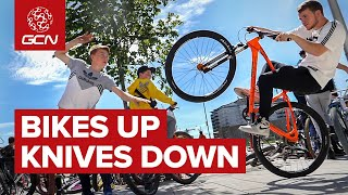 Bikes Up, Knives Down | Using Cycling To Fight Knife Crime