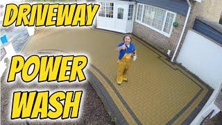Driveway Power Washing