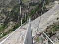 El puente suspendido más largo del mundo es inaugurado en Suiza