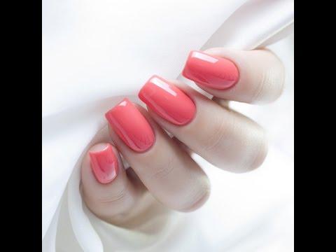 маникюр фото лак на натуральные ногти