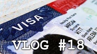 Wiza do USA – jak złożyć wniosek i Wasze pytania | Vlog #18