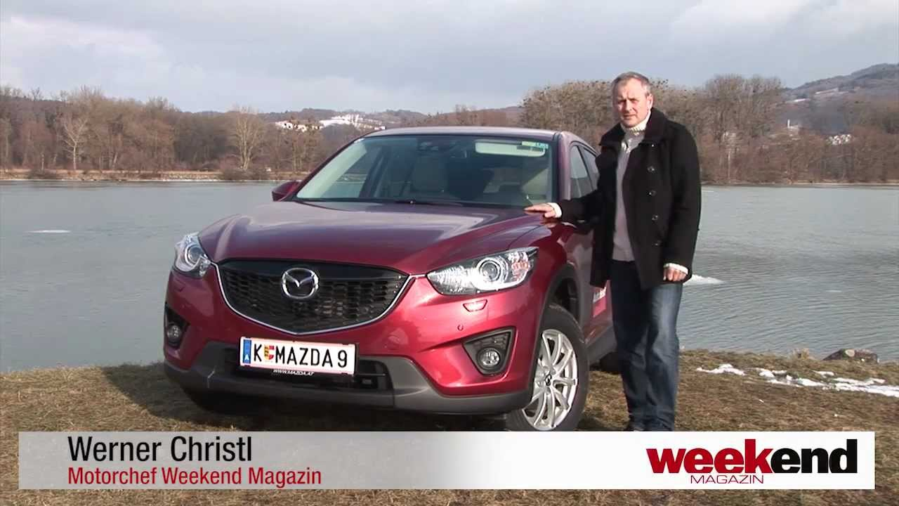mazda cx-5 2.0i skyactiv - weekend magazin autotest - youtube