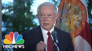 AG Jeff Sessions Condemns Sanctuary Cities, Calls Them 'Predator's Best Friend' | NBC News Free HD Video