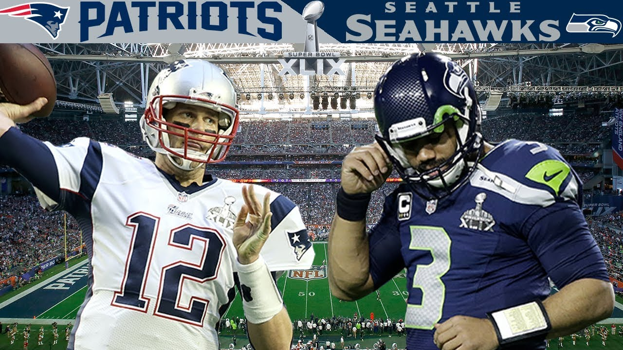 The Craziest Ending In Super Bowl History Patriots Vs Seahawks Super Bowl 49 Youtube