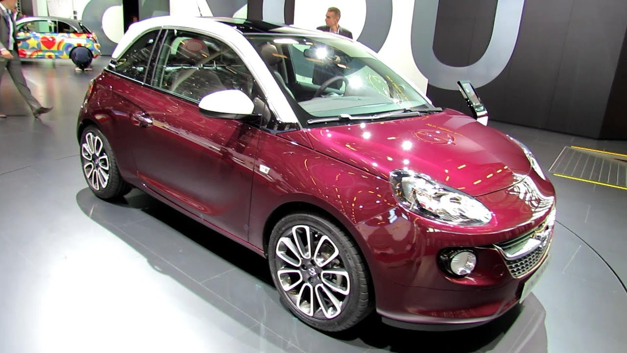 2013 opel adam glam exterior walkaround 2012 paris auto show youtube. Black Bedroom Furniture Sets. Home Design Ideas