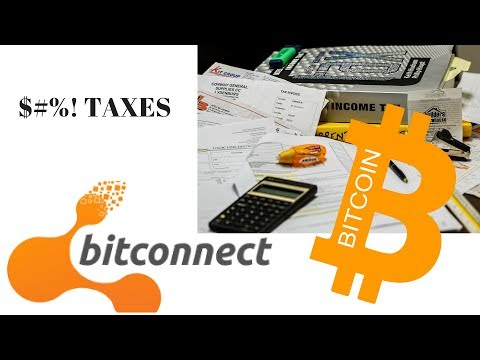 TAXES and Bitconnect