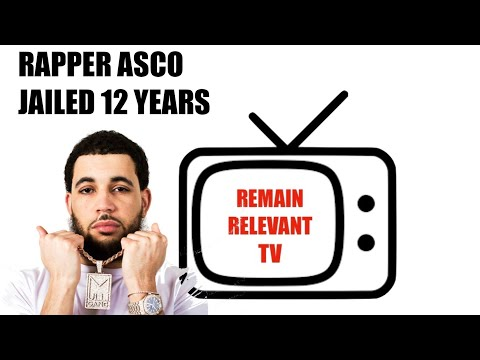 RAPPER ASCO JAILED 12 YEARS AND SIX MONTHS!