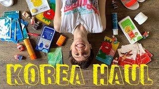 KOREA HAUL! Beauty & Fashion!!!