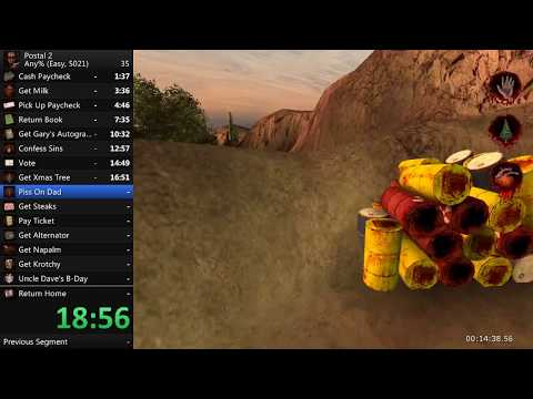 Postal 2 any% speedrun in 41:35 [WR]