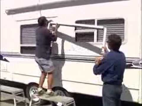 RV How To Install an Awning - YouTube
