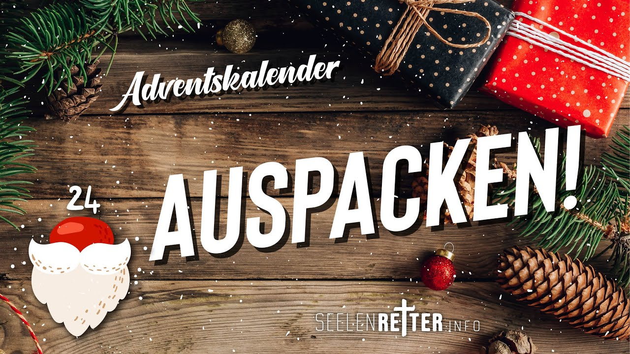 24. Tür | Auspacken! | Adventskalender 2020