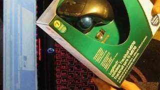 Unboxing Review of Logitech wireless Trackball M570.Gaming mouse say NO to touchpad