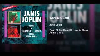 Work Me, Lord