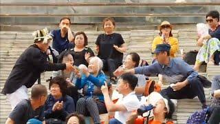 돈쓸기의 달인~삼식이 서울마지막공연~주느라바쁘고~받느라~노래못허고~주거니받거니~~@@