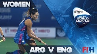 Argentina v England Match Highlights - Sentinel Homes Hockey World League Final   Auckland, New Zeal