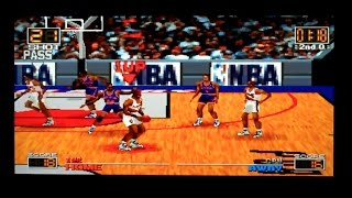 NBA In The Zone Playstation Gameplay