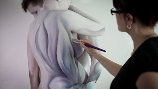 Making-of: Fine art body painting