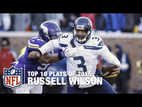 Top 10 Russell Wilson Highlights of 2015 | NFL
