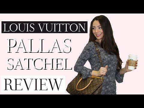 LOUIS VUITTON PALLAS SATCHEL REVIEW