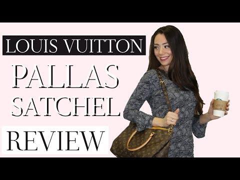 LOUIS VUITTON PALLAS SATCHEL REVIEW