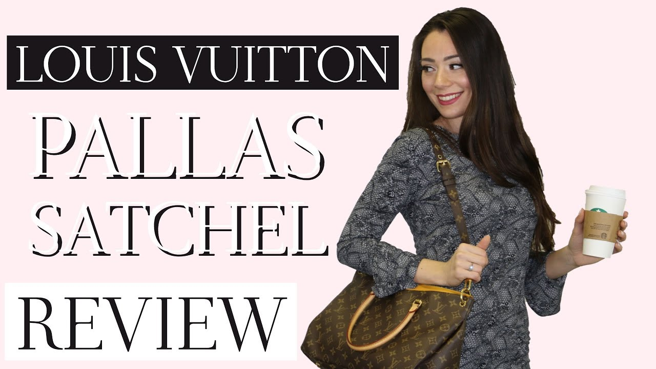 LOUIS VUITTON PALLAS SATCHEL REVIEW - YouTube d7b5bb5f5eeaa