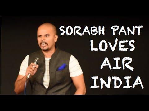 EIC: Sorabh Pant Loves Air India