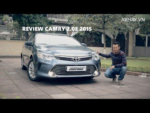 [XEHAY.VN] nhận xét xe Toyota Camry 2.0E 2015