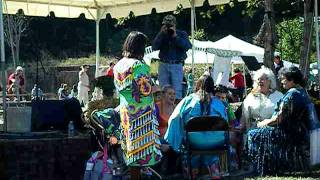 Ye Iswa(Catawba) Drum Group-The Calling Song @ 2011 Pacolet Indian Festival