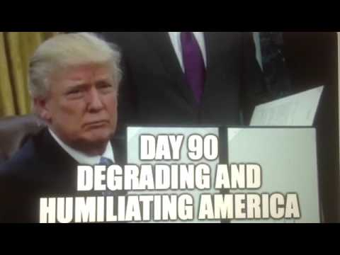 """Day 90"" Trump White House Hides April 19th as America is Degraded & Humiliated"