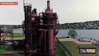 Aerial View of Gasworks Park