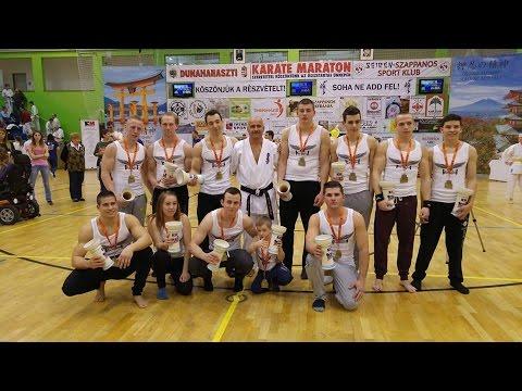 Bar Eagles Hungary - Street Workout Bemutató (Karate Maraton)