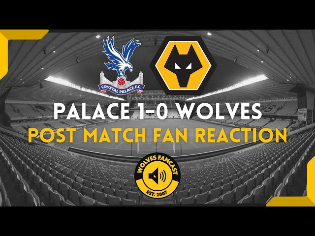 Crystal Palace 1-0 Wolves | Fan Reaction