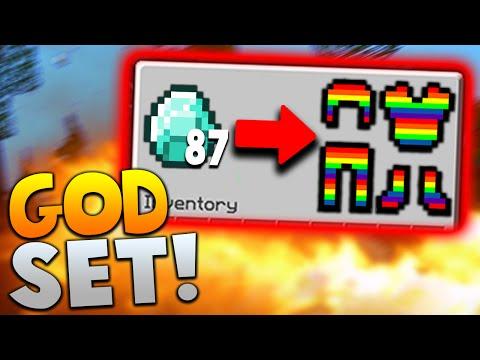 87 DIAMONDS = GODSET?! | Minecraft MONEY WARS with PrestonPlayz