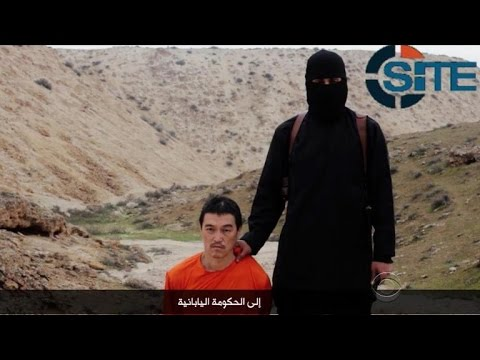ISIS video purportedly shows execution of Japanese hostage