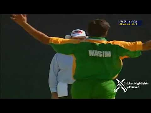 Pakistan Vs India Sharjah Cup Final 1999