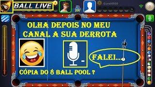 8 Ball Live - Jogo de Sinuca com Microfone e Câmera screenshot 5