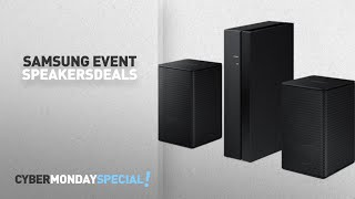 Walmart Top Cyber Monday Samsung Savings Event Speakers Deals: Samsung 2 Channel Wireless Rear